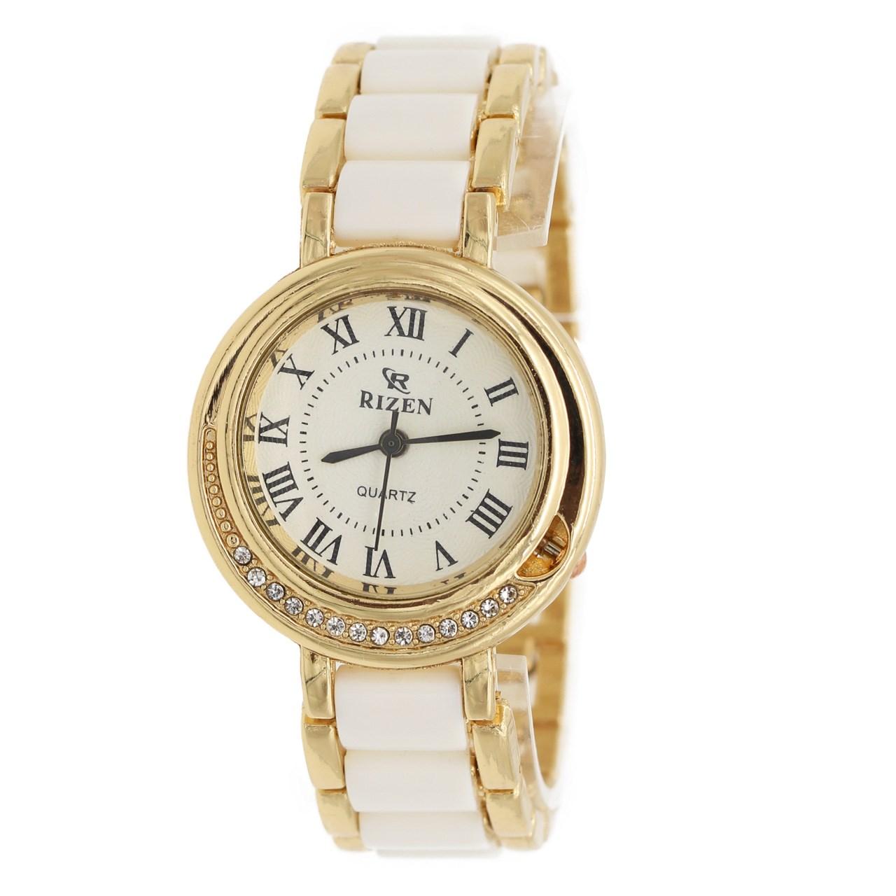 ساعت مچی عقربه ای زنانه ریزن مدل RZ740