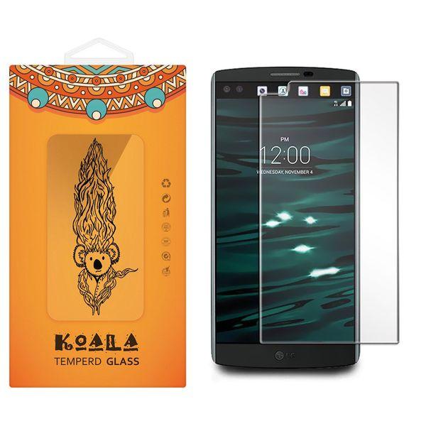 محافظ صفحه نمایش شیشه ای کوالا مدل Tempered مناسب برای گوشی موبایل ال جی V10