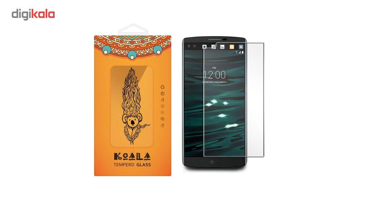 محافظ صفحه نمایش شیشه ای کوالا مدل Tempered مناسب برای گوشی موبایل ال جی V10 main 1 1