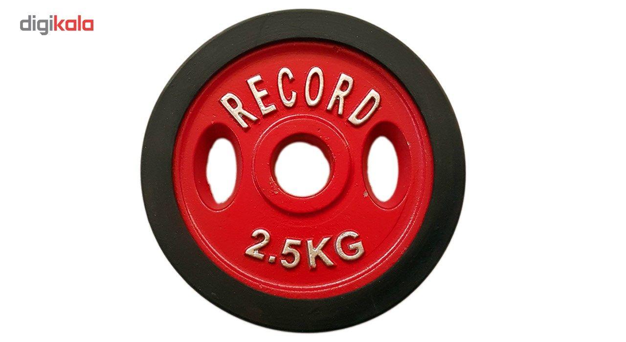 وزنه هالتر خانگی 2.5 کیلویی مدل R2 - دو عددی main 1 2