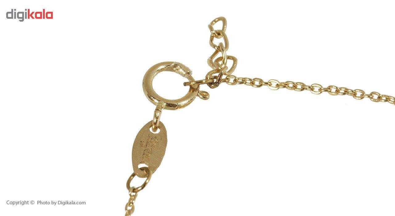 دستبند طلا 18 عیار ماهک مدل MB0293 - مایا ماهک -  - 1