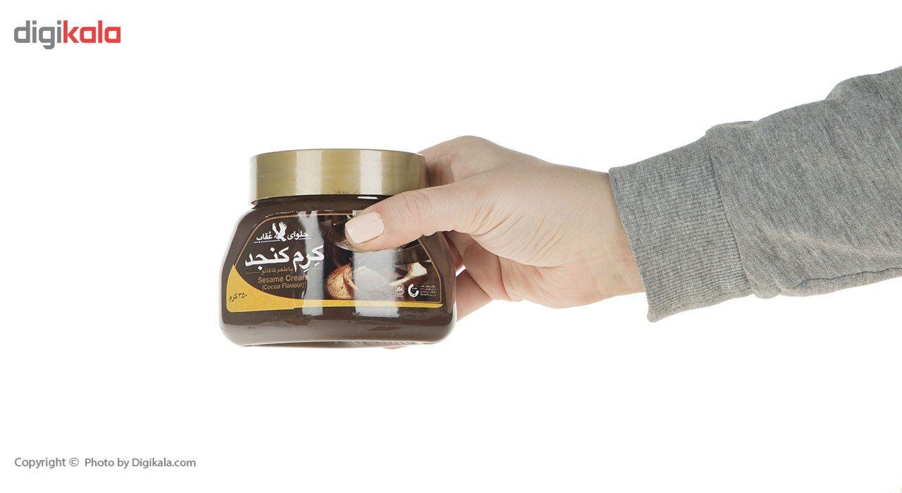 کرم کنجد عقاب با طعم کاکائو مقدار 350 گرم main 1 8