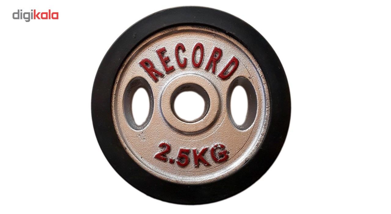 وزنه هالتر خانگی 2.5 کیلویی مدل R2 - دو عددی main 1 5