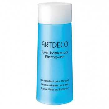 محلول پاک کننده آرایش آرت دکو مدل Eye Makeup Remover حجم 125 میلی لیتر