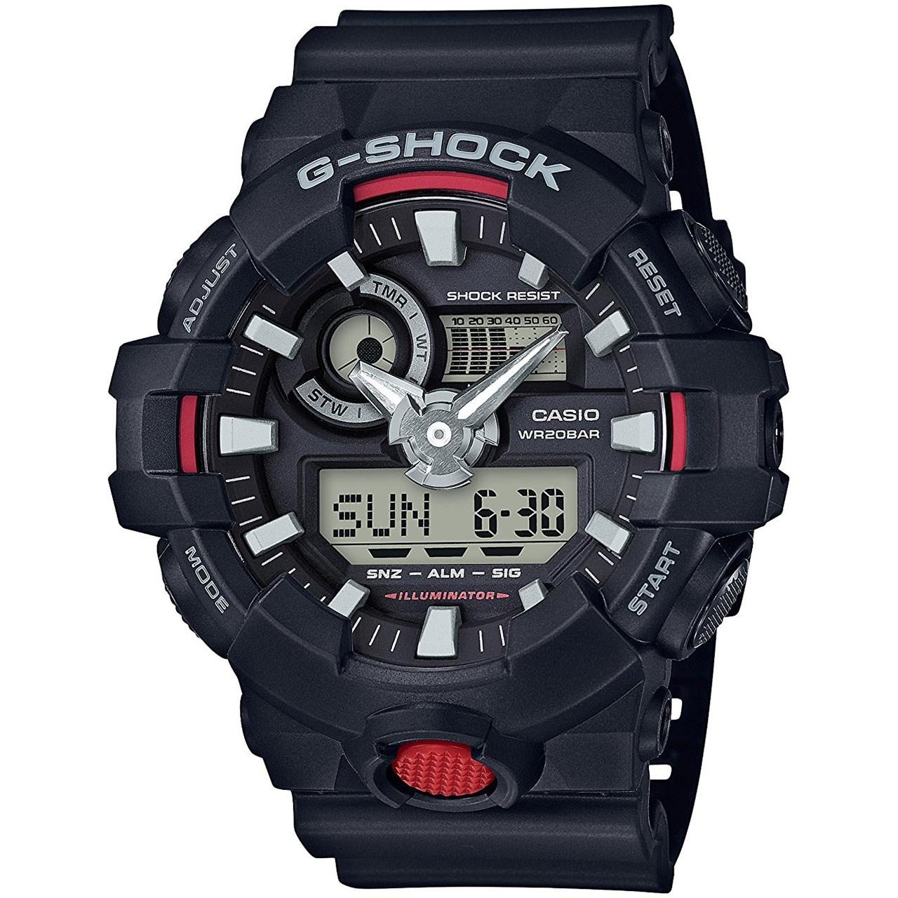 ساعت مچی عقربه ای مردانه کاسیو جی شاک مدل GA-700-1ADR 20