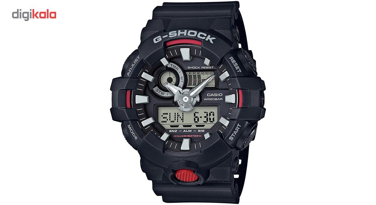 خرید ساعت مچی عقربه ای مردانه کاسیو جی شاک مدل GA-700-1ADR | ساعت مچی