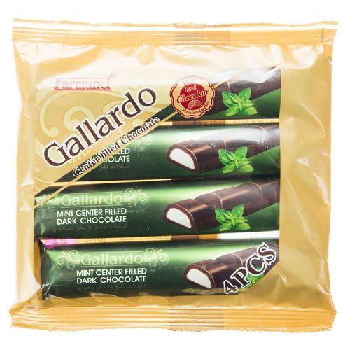 شکلات تلخ با مغز نعناع فرمند مقدار 100 گرم