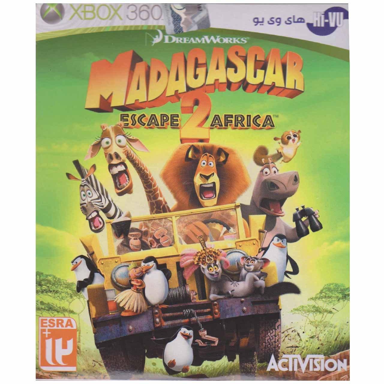 بازیِ Madagascar Escape 2 Afryca  مخصوص ایکس باکس 360