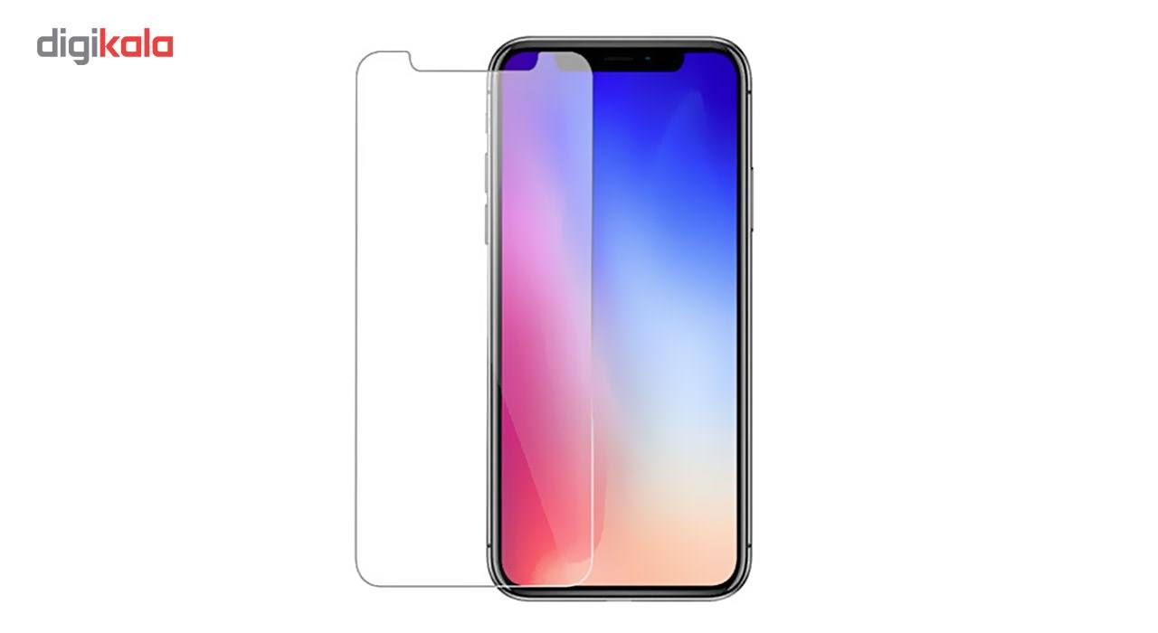 محافظ صفحه نمایش شیشه ای کوالا مدل Tempered مناسب برای گوشی موبایل اپل آیفون X به همراه محافظ پشت Tempered main 1 2