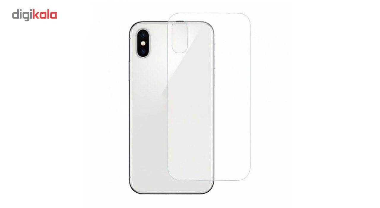 محافظ صفحه نمایش شیشه ای کوالا مدل Tempered مناسب برای گوشی موبایل اپل آیفون X به همراه محافظ پشت Tempered main 1 3