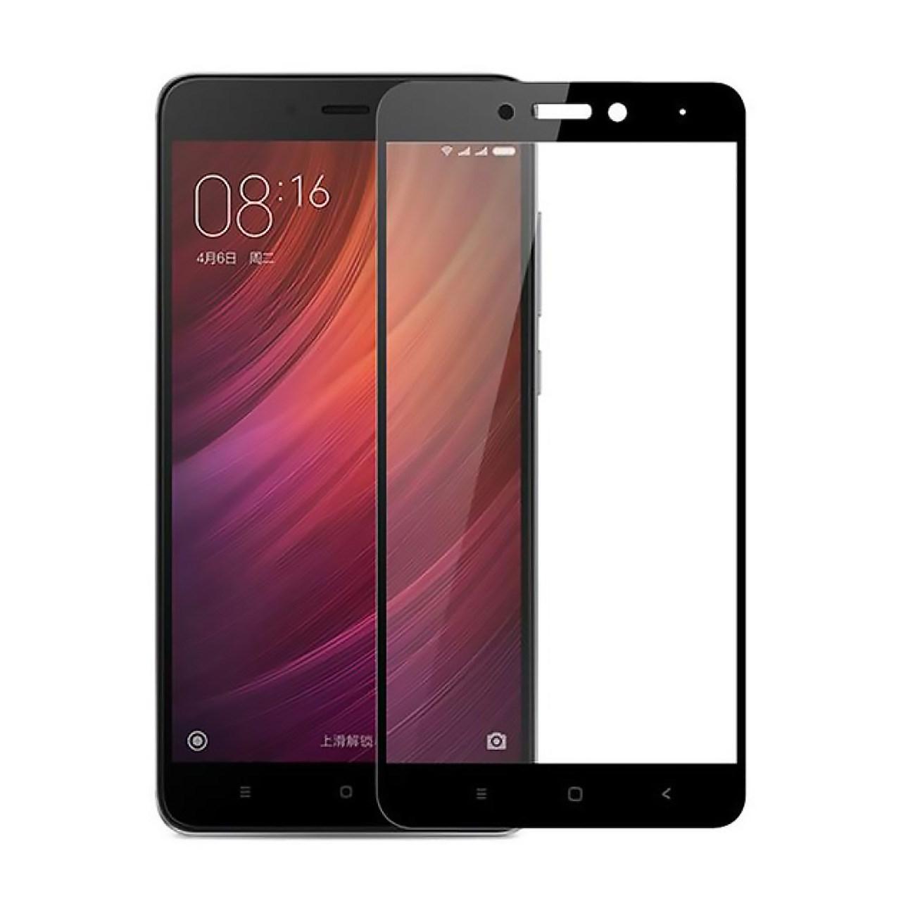 محافظ صفحه نمایش شیشه ای تمپرد مدل Full Cover مناسب برای گوشی موبایل Xiaomi Redmi Note 4