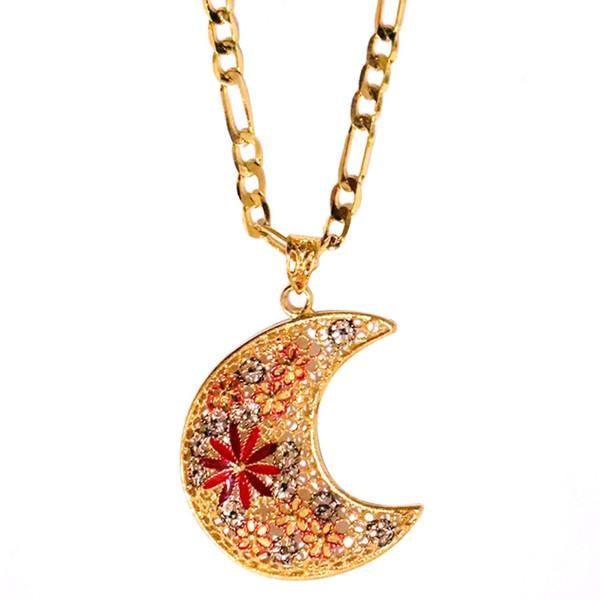 گردنبند شیک کده مدل ماه