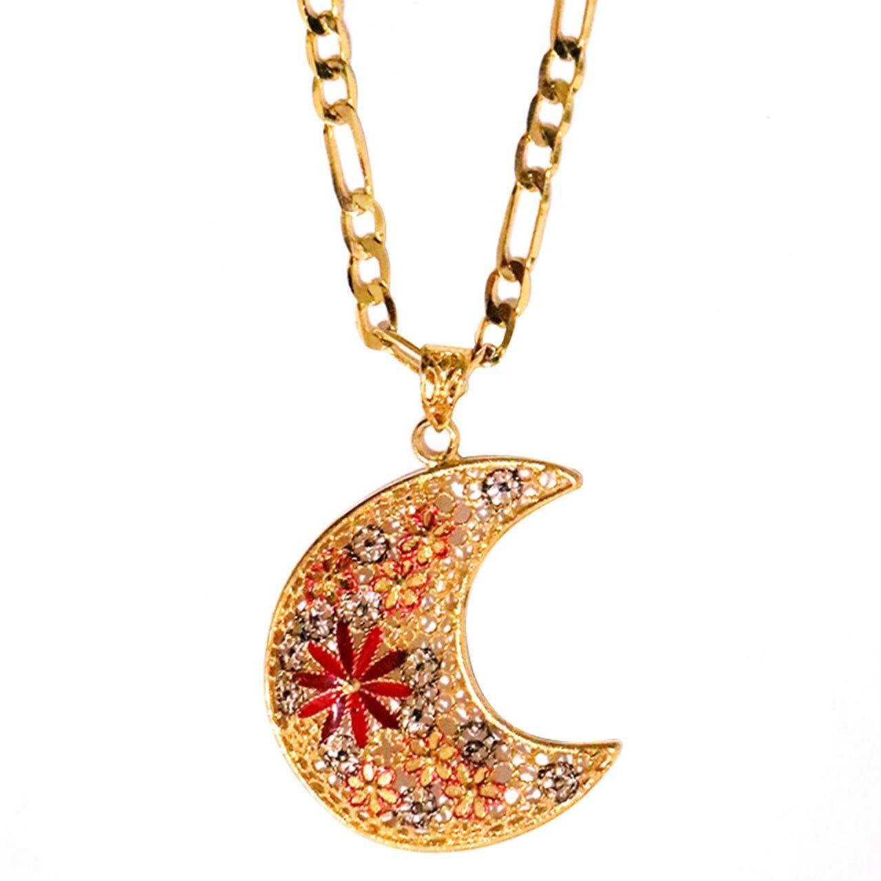 گردنبند شیک کده مدل ماه -  - 1