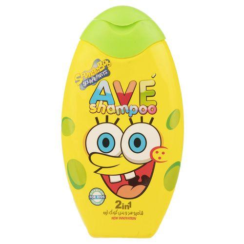شامپو سر و بدن کودک اوه مدل 2in1 Sponge Bob مقدار 280 گرم