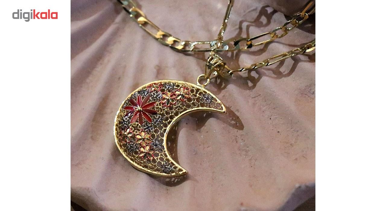 گردنبند شیک کده مدل ماه -  - 2