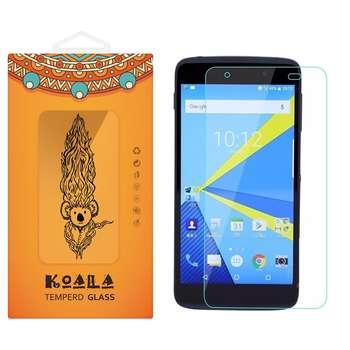 محافظ صفحه نمایش شیشه ای کوالا مدل Tempered مناسب برای گوشی موبایل بلک بری DTEK50