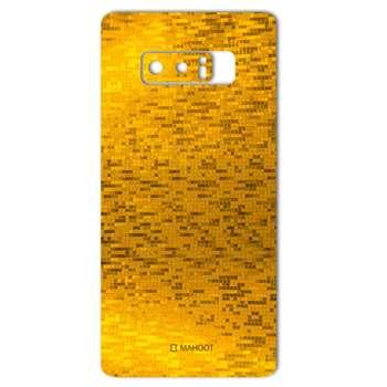 برچسب پوششی ماهوت مدل  Gold-pixel Special مناسب برای گوشی Samsung Note 8