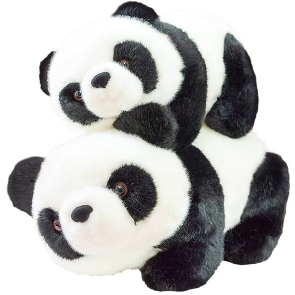 عروسک خرس PandaWay مدل خرس پاندا 2 عددی