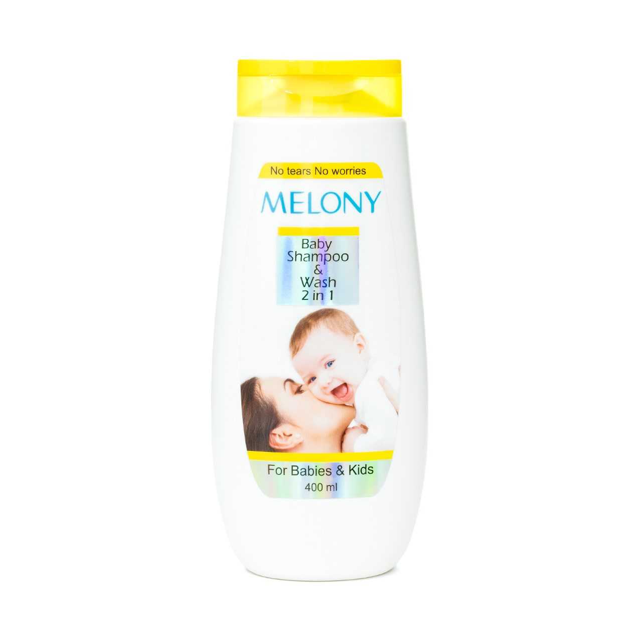 شامپو سر و بدن کودک ملونی مدل Baby Shampoo and Wash حجم 400 میلی لیتر
