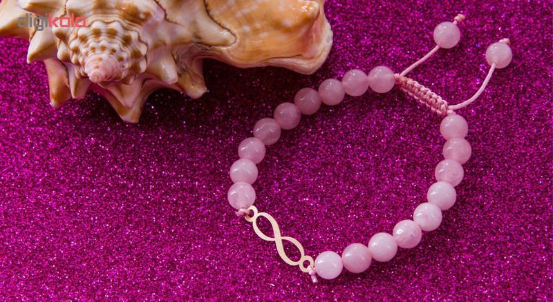 دستبند طلا 18 عیار مرجان مدل 0750