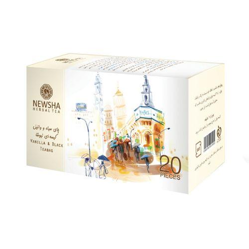 بسته چای وانیل نیوشا مدل Vanilla