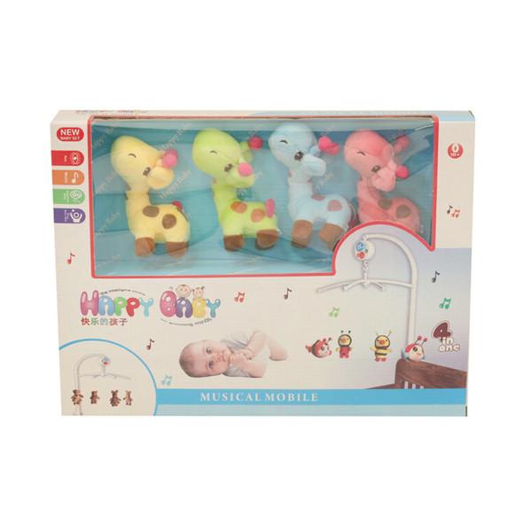 آویز تخت کودک مدل happy baby کد 2
