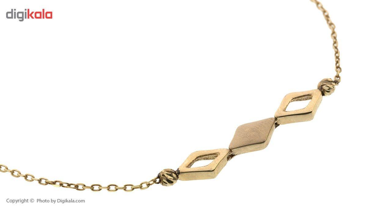 دستبند طلا 18 عیار ماهک مدل MB0398 - مایا ماهک -  - 3