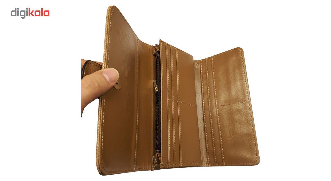 کیف پول زنانه ای دی کد 20 -  - 5