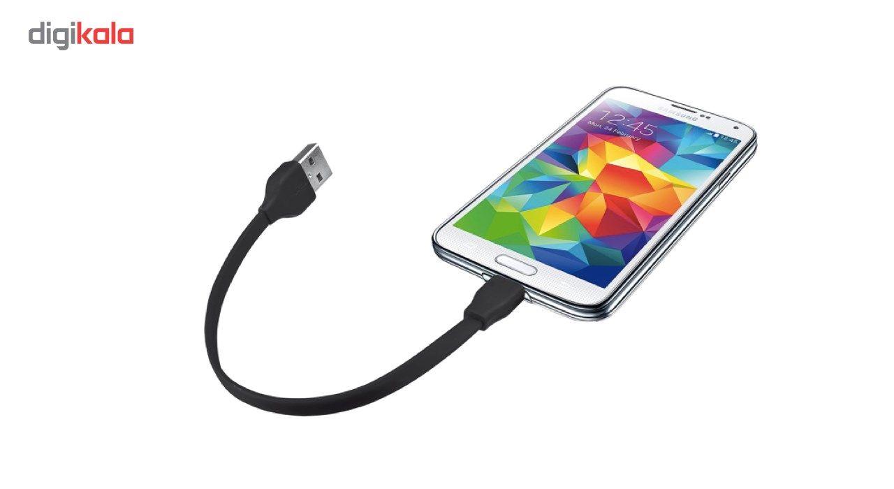 کابل تبدل USB  به MicroUSB به طول 20  سانتی متر main 1 2