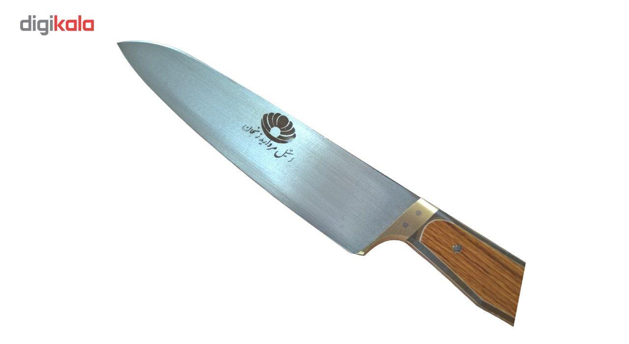 چاقو آشپزخانه زنجان مدل مروارید سایز 1 main 1 3