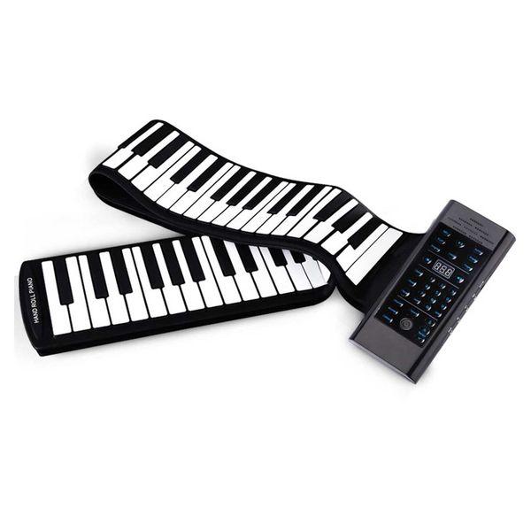 پیانو رولی سیلیکونی مدل 88 کلیده