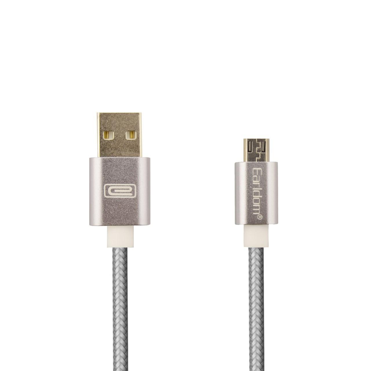 کابل تبدیل USB به Micro USB ارلدام مدل ET-011M طول 3 متر              ( قیمت و خرید)