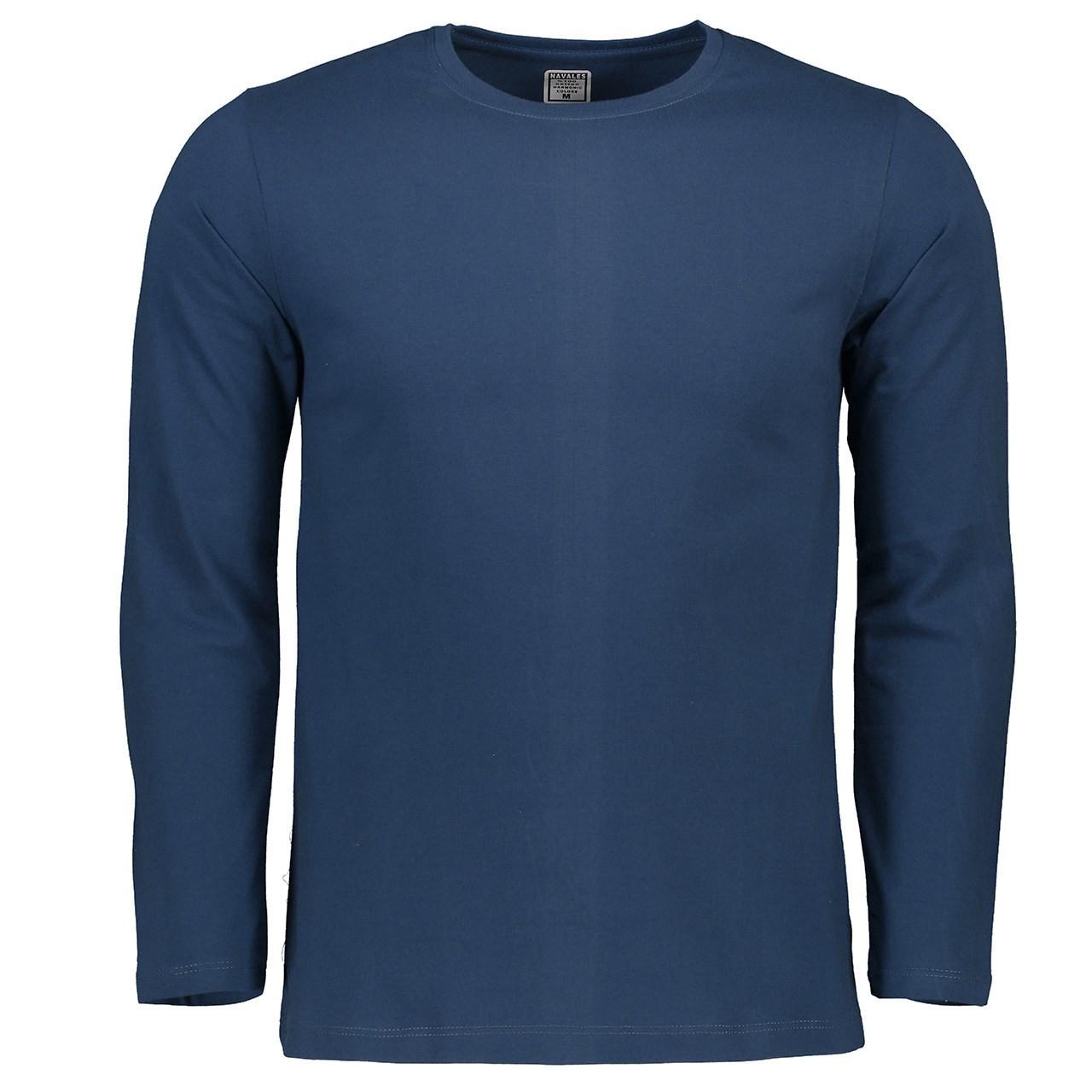 تی شرت آستین بلند مردانه ناوالس کد TS300BL
