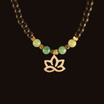 گردنبند طلا 18 عیار زنانه آمانژ کد D10400