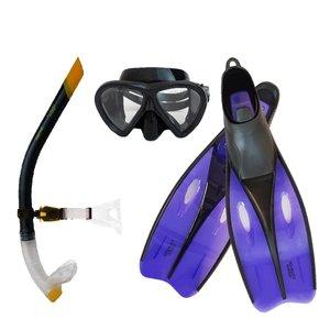 عینک و اسنورکل و فین غواصی آکوا پرو کد 58924