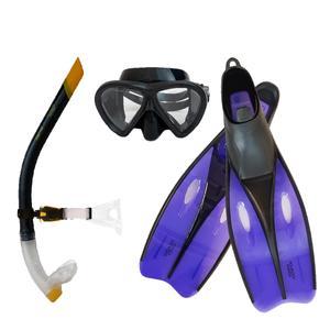 عینک و اسنورکل و فین غواصی آکوا پرو مدل 514042