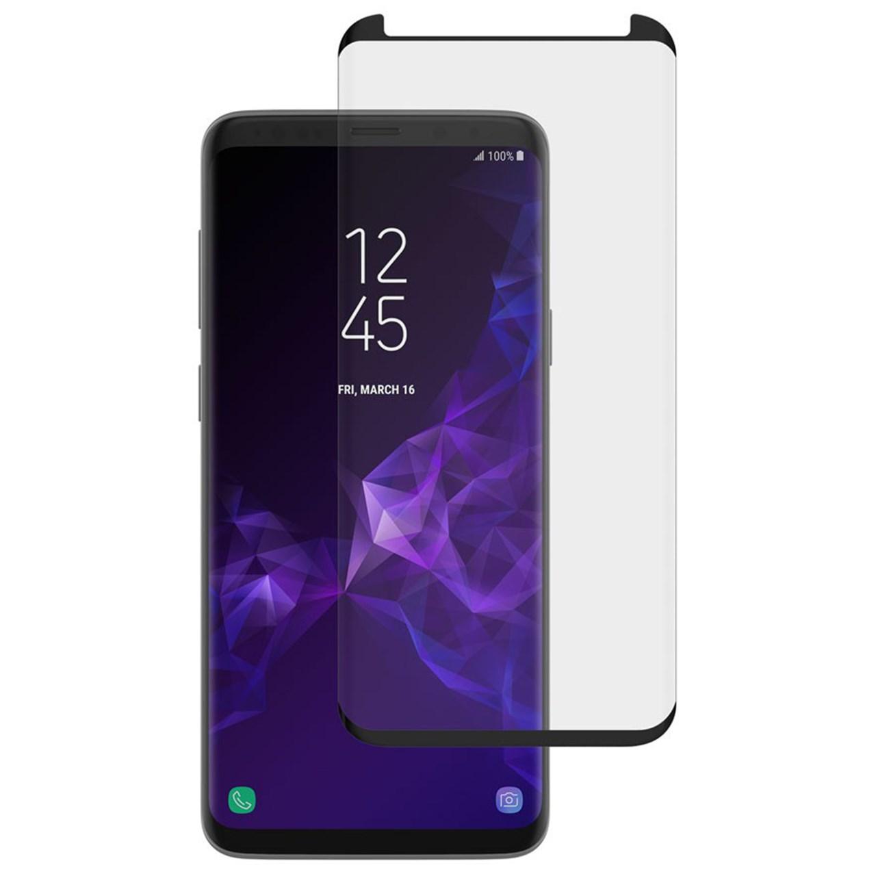 محافظ صفحه نمایش مدل Edge Glue مناسب برای گوشی موبایل سامسونگ S9 Plus
