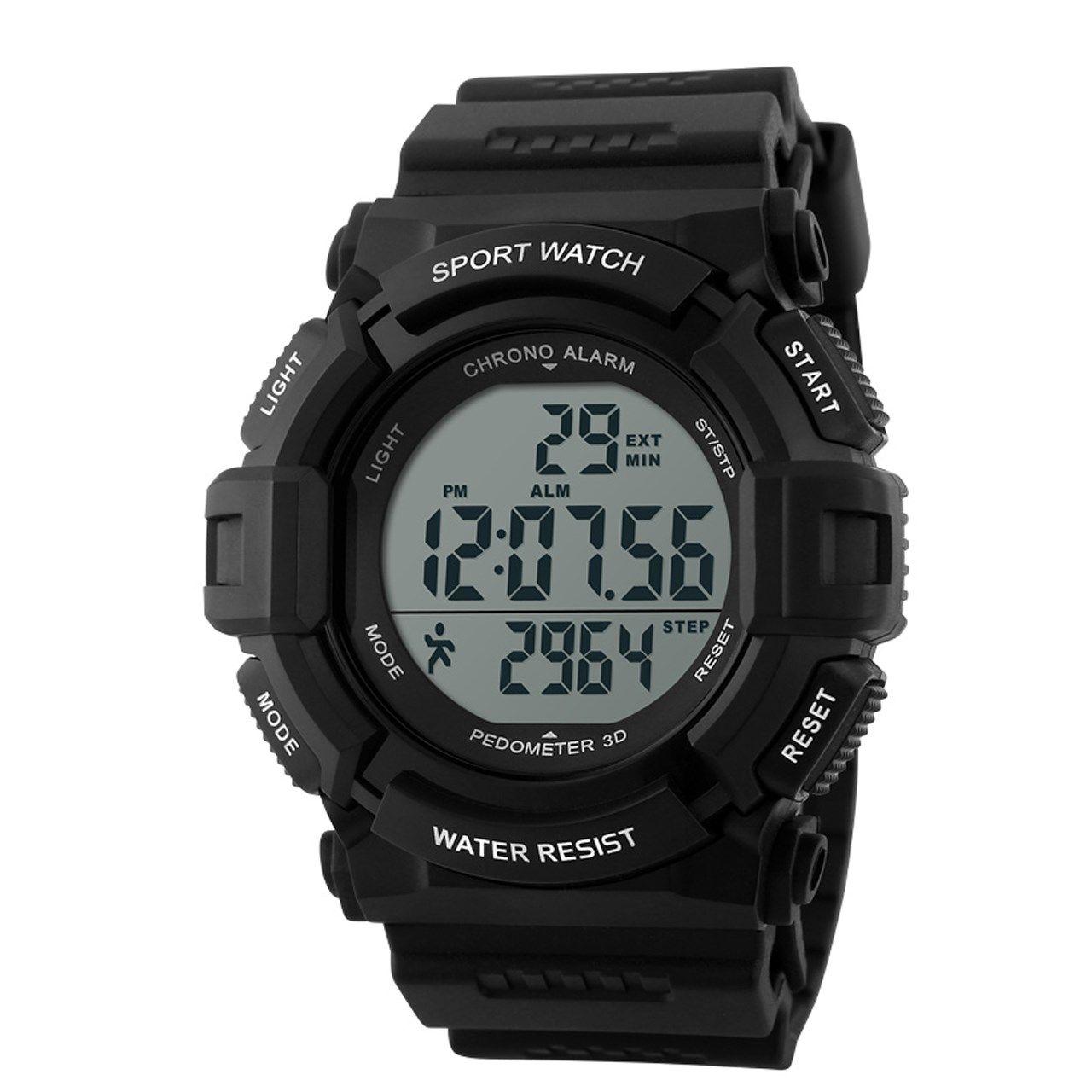 ساعت مچی دیجیتال اسکمی مدل 1116-BL -  - 1