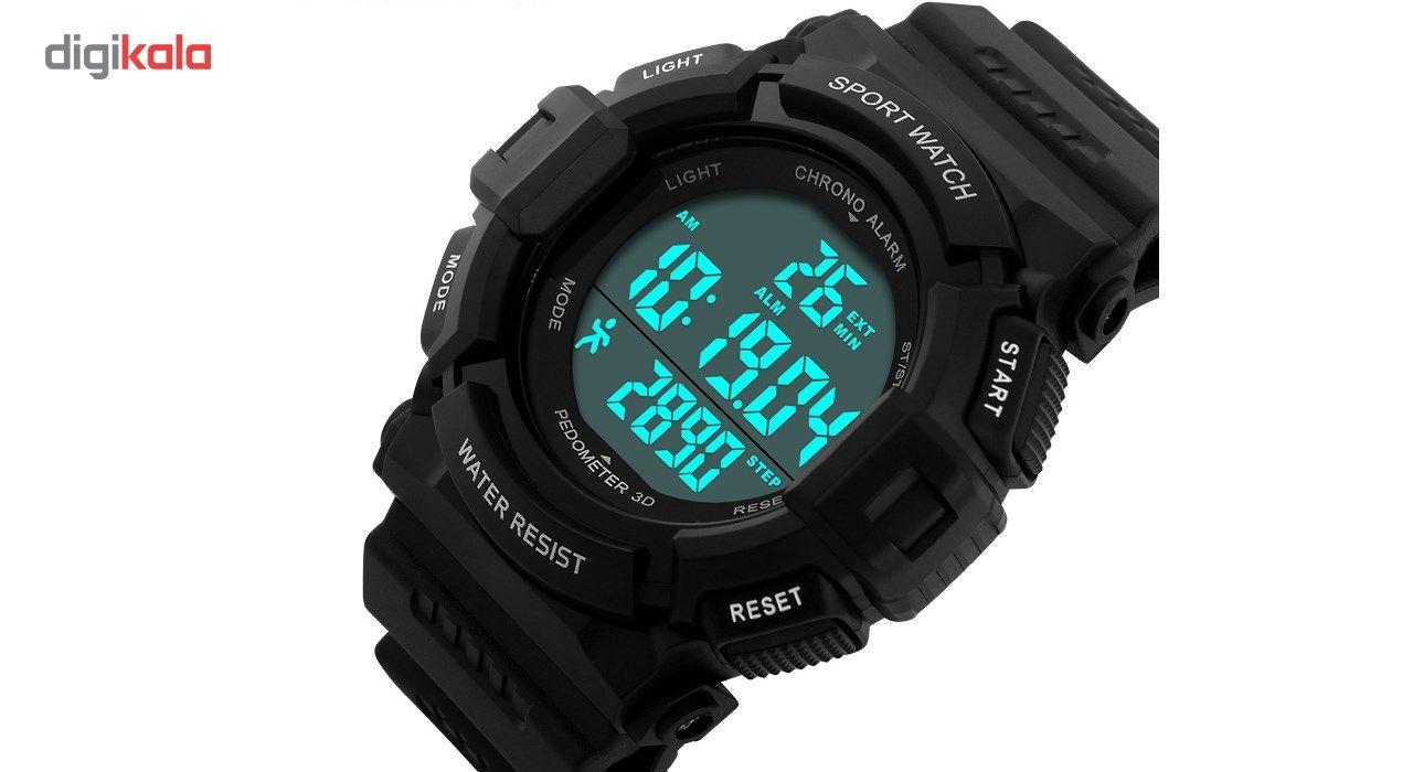 ساعت مچی دیجیتال اسکمی مدل 1116-BL -  - 2