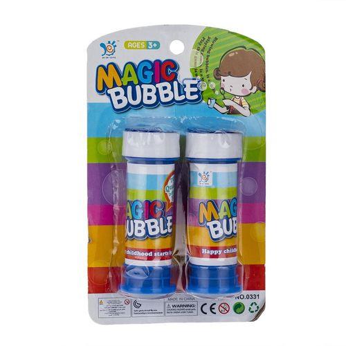 مایع حباب ساز مدل Magic Bubble بسته دو عددی