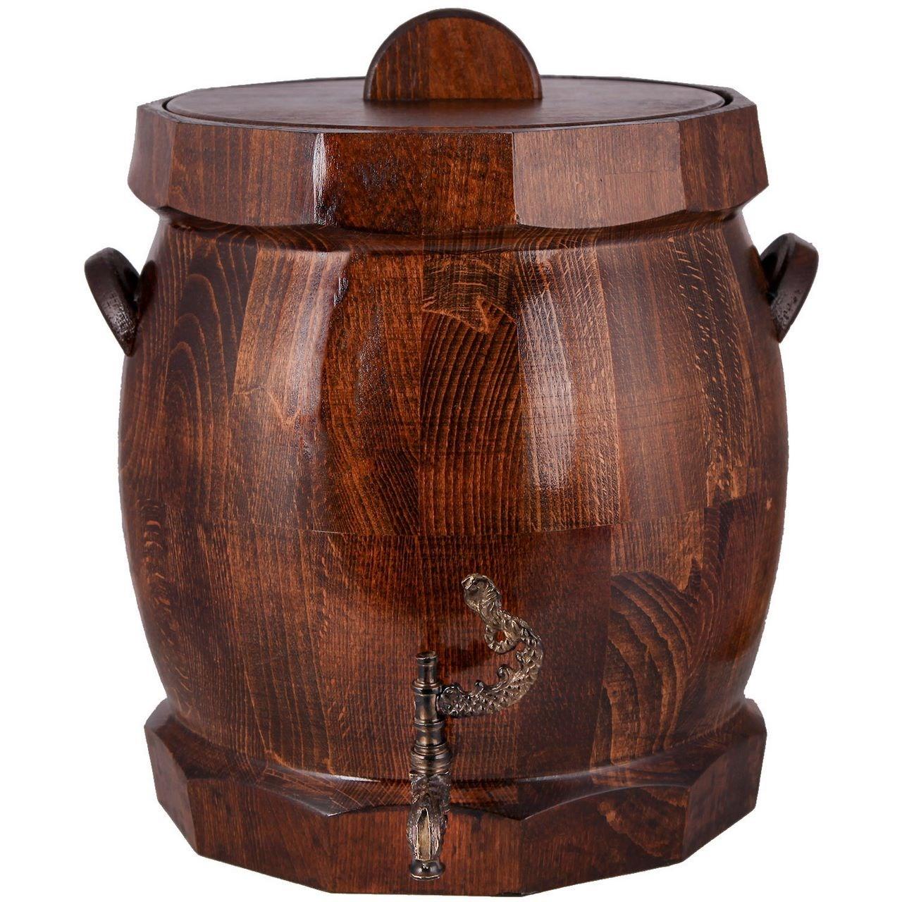 کلمن چوبی خانه چوبی طرح بشکه کد 610001