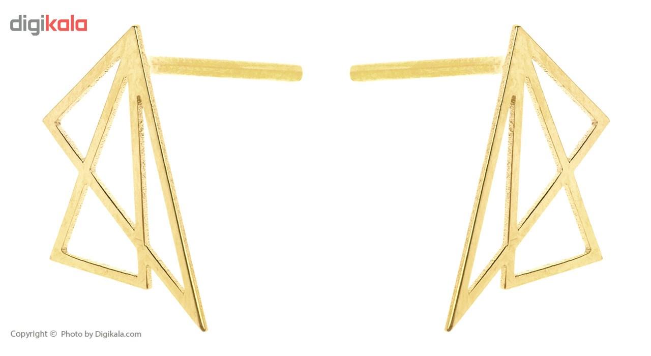 گوشواره طلا 18 عیار ماهک مدل ME0691