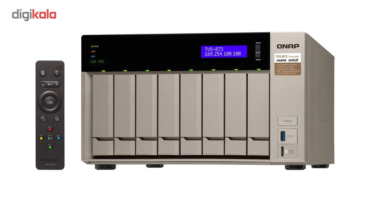 ذخیره ساز تحت شبکه کیونپ مدل TVS-873-8G