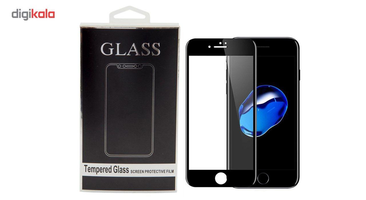 محافظ صفحه نمایش تمام چسب شیشه ای مدل 5D مناسب برای گوشی اپل آیفون 7 پلاس main 1 1