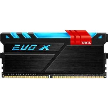 رم دسکتاپ DDR4 تک کاناله 2400 مگاهرتز CL17 گیل مدل Evo X ظرفیت 8 گیگابایت