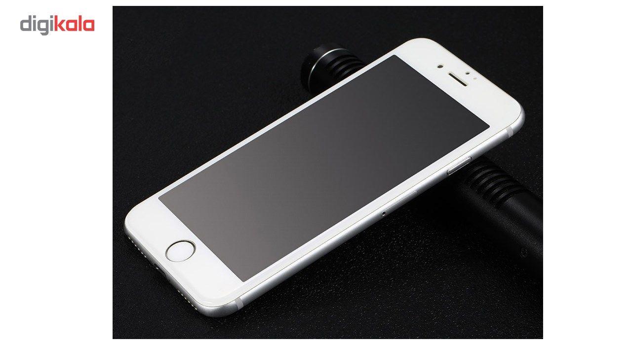 محافظ صفحه نمایش تمام چسب شیشه ای مدل 5D مناسب برای گوشی اپل آیفون 7 پلاس main 1 5