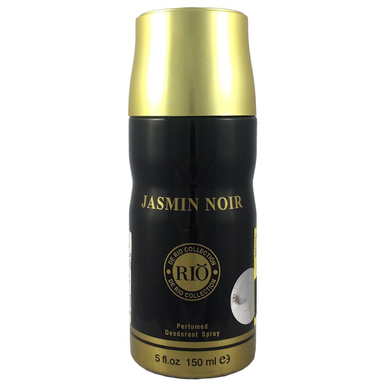 اسپری ضد تعریق زنانه ریو کالکشن مدل Rio Jasmin Noir حجم 150ml -  - 1