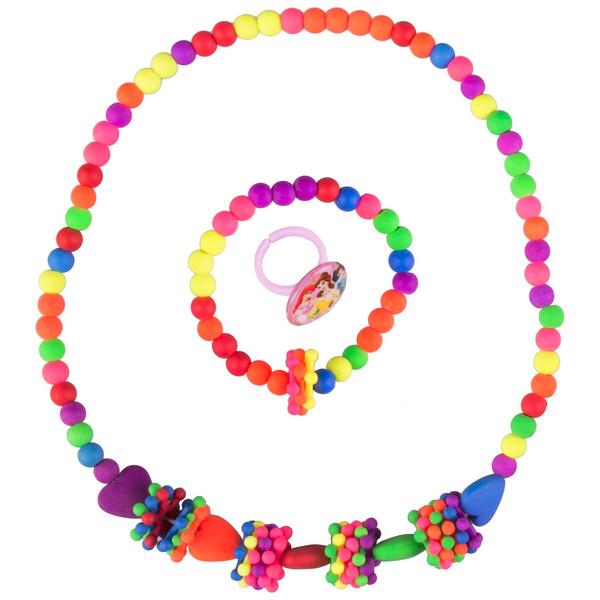 ست گردنبند و دستبند دخترانه ویتالی بیوتی مدل سیندرلا کد A623