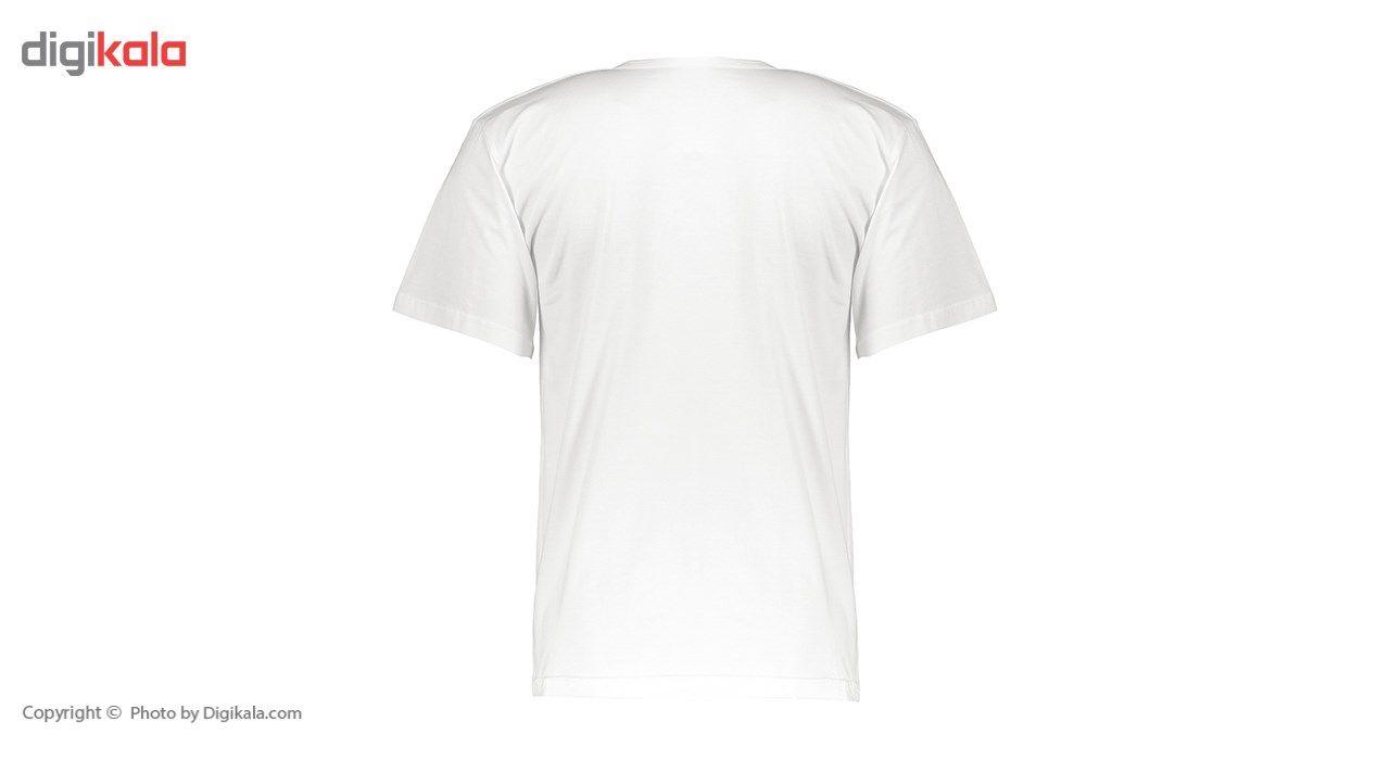 زیرپوش آستین کوتاه مردانه رویین تن پوش مدل  11112 -  - 4