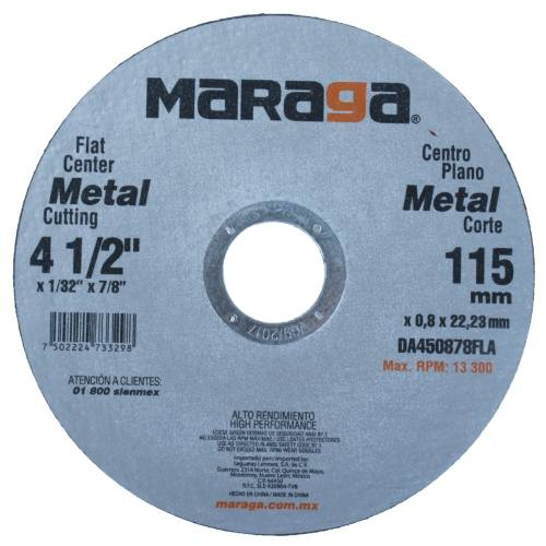 سنگ برش استیل بر 25 عددی ماراگا مدل 115x0.8